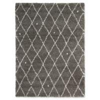 Calvin Klein Riad 4' x 6' Area Rug in Grey/Ivory