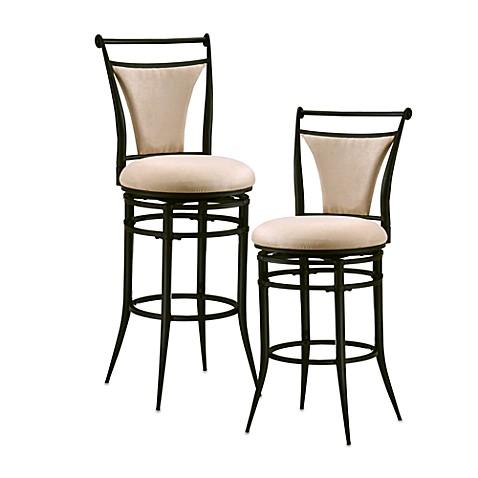 buy hillsdale cierra 26 inch swivel counter stool in beige from bed bath beyond. Black Bedroom Furniture Sets. Home Design Ideas