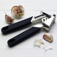 Messermeister Pro-Touch Jumbo Garlic Press in Black