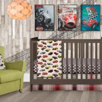 Glenna Jean Fast Track 3-Piece Crib Bedding Set