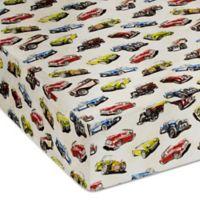 Glenna Jean Fast Track Car Fitted Crib Sheet