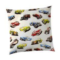 Glenna Jean Fast Track Car Throw Pillow