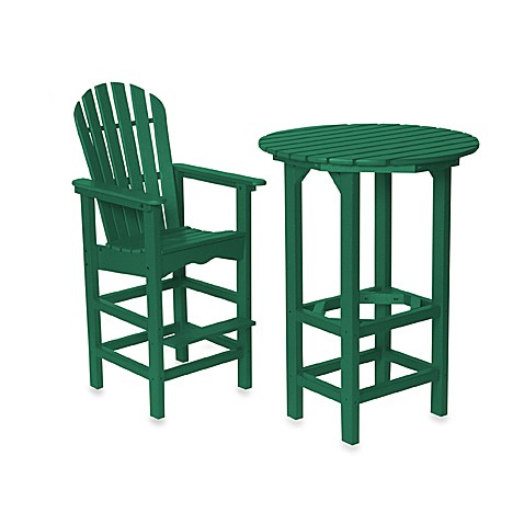 Beachfront Furniture Collection Lighthouse Bar Table And