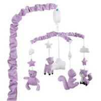 The PeanutShell™ Woodland Musical Mobile in Purple
