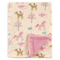Luvable Friends® Forest Reversible Minky/Sherpa Blanket
