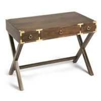 Butler Specialty Company Forster Campaign Writing Desk in Walnut