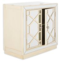Safavieh Juniper 2-Door Chest in Antique Beige