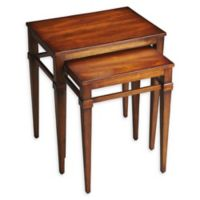 Butler Specialty Company Nolan Nesting Tables in Antique Cherry (Set of 2)