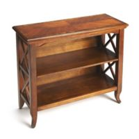 Butler Specialty Company Newport Bookcase in Medium Brown