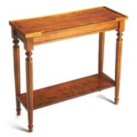 Butler Specialty Company Aubrey Console Table in Olive Ash Burl