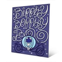 Astra Art Magical Carriage 14-Inch x 11-Inch Metal Wall Art in Blue