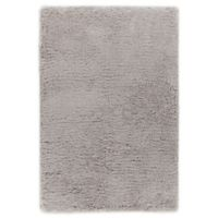 Chandra Rugs Osim 7'9 x 10'6 Hand-Woven Area Rug in Silver