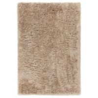 Chandra Rugs Osim 7'9 x 10'6 Hand-Woven Area Rug in Tan