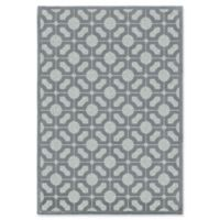 Orian Rugs Boucle Huron Harbor 9' x 13' Area Rug in Blue