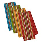 Design Imports Cantina Stripes Kitchen Towels (Set of 4)