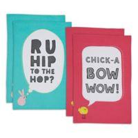 Design Imports Hip Easter Embellished Kitchen Towels (Set of 4)
