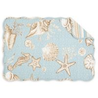 C&F Home Hamilton Placemats in Blue (Set of 6)