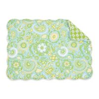 C&F Home Zoe Placemats in Green (Set of 6)