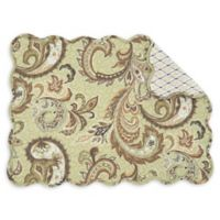 C&F Home Zoey Placemats in Olive (Set of 6)