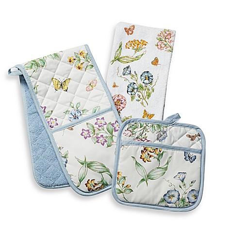 Perfect Lenox® Butterfly Meadow® Kitchen Towel Ensemble