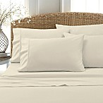 Blissful Living 800-Thread-Count Cotton Rich Solid Full Sheet Set in White