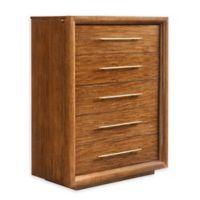 Stanley Furniture Panavista Panorama Drawer Chest in Goldenrod