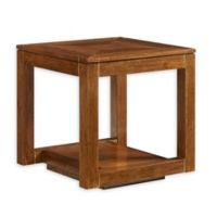 Stanley Furniture Panavista Floating End Table in Goldenrod