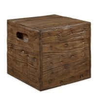 Powell Warner Wooden Crate in Ash