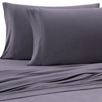 Purple® Solid Viscose Made From Bamboo Full/Queen Sheet Set in Slate Grey