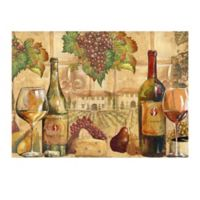 Wine Collage Laminated Placemat