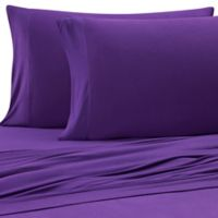 Purple® Solid Viscose Made From Bamboo Full/Queen Sheet Set in Purple