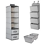 Delta Children® 3-Piece Complete Nursery Organization Set in Grey
