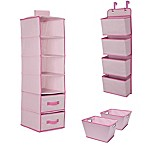 Delta Children® 3-Piece Complete Nursery Organization Set in Pink
