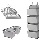 Delta Children 13-Piece Complete Nursery Organization Set in Grey