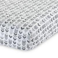 Lambs & Ivy® Urban Jungle Arrow Print Fitted Crib Sheet