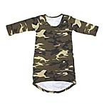 Little Foot Clothing Co Size 6-12M Long Sleeve Maxi Dress in Camo