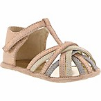 Kenneth Cole Reaction Size 3-6M Baby Wisp Flat Shoe in Rose Gold