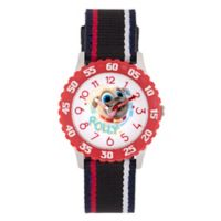 Disney® Children's 32mm Puppy Dog Pals Rolly Time Teacher Watch in Black