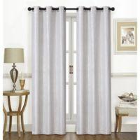 Chandler 84-Inch Grommet Window Curtain Panel Pair in Linen