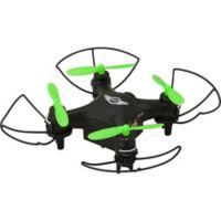 Sky Rider Mini Glow Quadcopter Drone with Wi-Fi Camera in Black