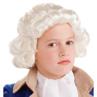Colonial Child's Halloween Wig