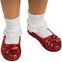 The Wizard of Oz Ruby Small Child's Slippers