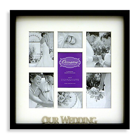Occasions 7 Opening Wedding Collage Frame