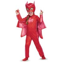 PJ Masks Owlette Medium Toddler Classic Multicolor Halloween Costume