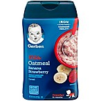 Gerber® Lil' Bits 8 oz. Oatmeal Strawberry Banana Cereal