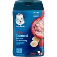 Gerber® Lil' Bits 8 oz. Oatmeal Strawberry Banana Cereal