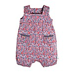 Burt's Bees Baby® Size 6-9M Ditsy Floral Bubble Romper