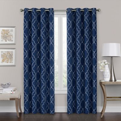 curtain inc set navy p blackout dark duke panel of two imports curtains main