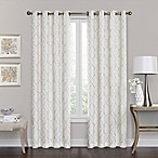 Brent Grommet 84-Inch 100% Blackout Window Curtain Panel in Ivory