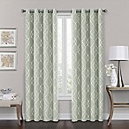 Brent Grommet 100% Blackout 84-Inch Window Curtain Panel in Green